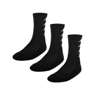 Amals black unisex socks