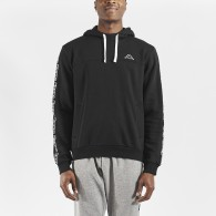 Itupo black sweatshirt for men