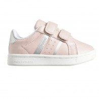Alpha pink baby shoes